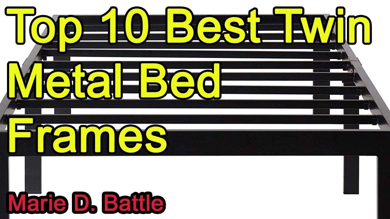 Best Bed Frames 2021 Top 10 Best Twin Metal Bed Frames 2020 2021 in 2020 | Metal bed