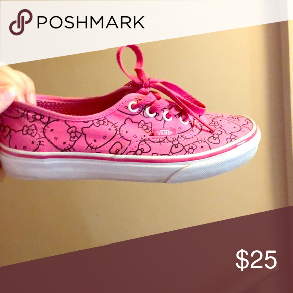 73fa1dbc34 Pink hello kitty vans Pink hello kitty vans Vans Shoes Sneakers