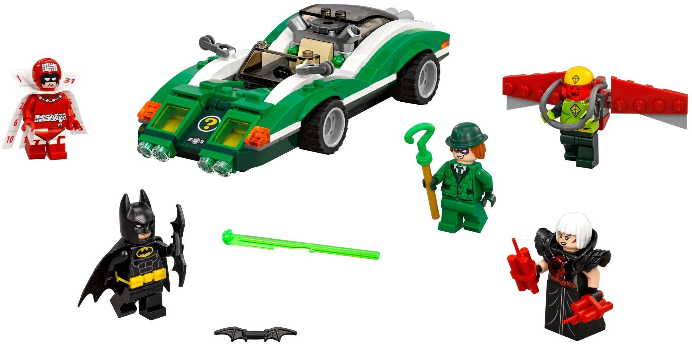 709031 The Riddler Riddle Racer Lego batman movie