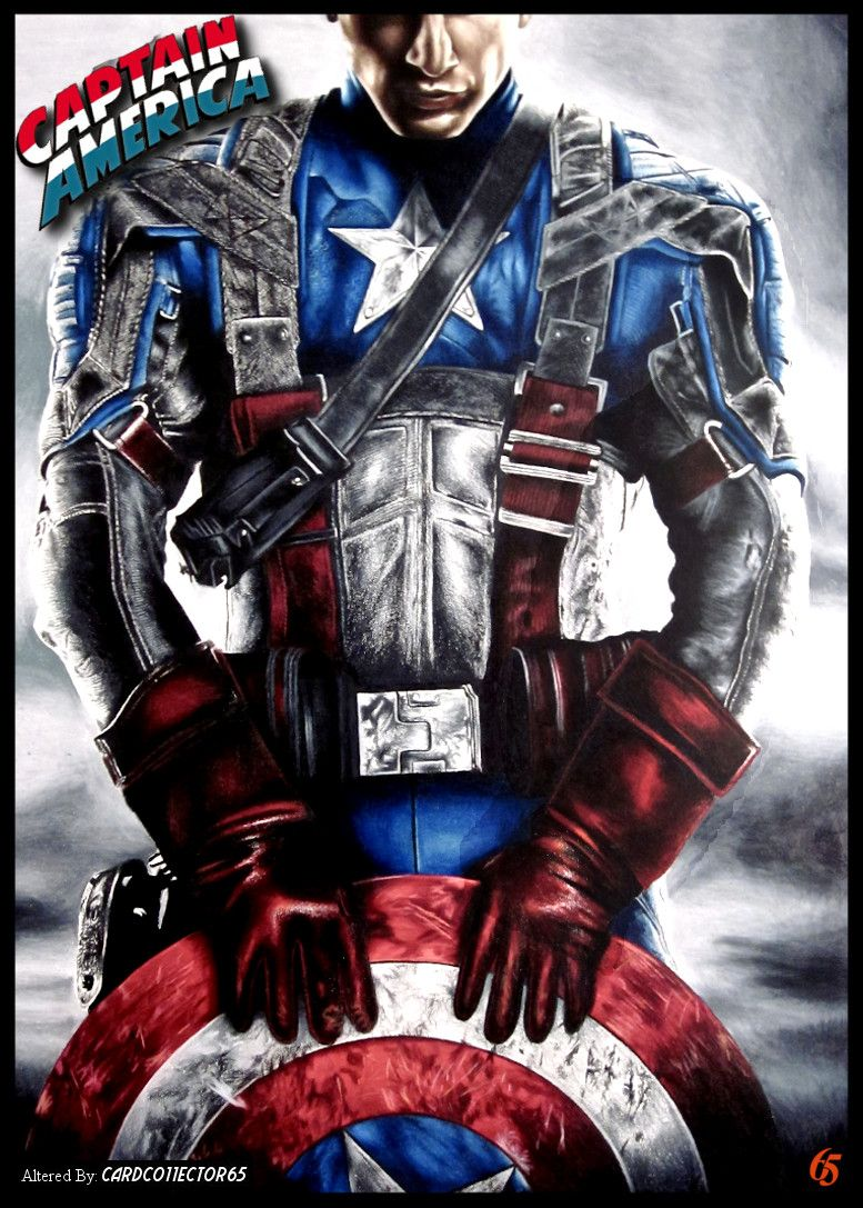 af704aa85c8 Captain America, Stand Alone - MTG - Sleeves   Trading Card Sleeve ...