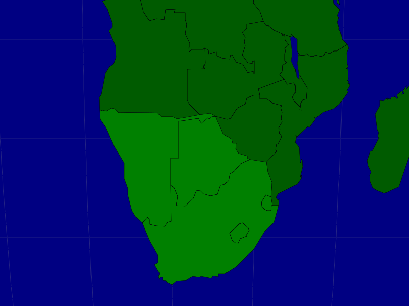 Southern Africa: Countries - Map Quiz Game | Countries: Africa