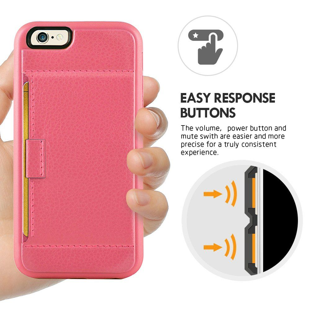 iphone 6 Wallet Case iphone 6 Credit Card Case ZVE iphone 6 case ...