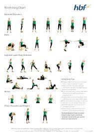 best stretch chart  google search  flexibility workout
