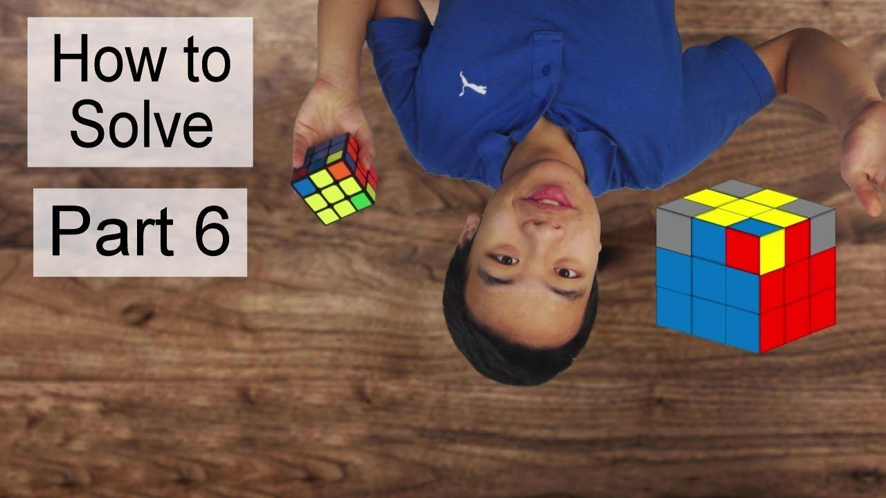 How to Solve a Rubik's Cube For Kids and Beginner with No