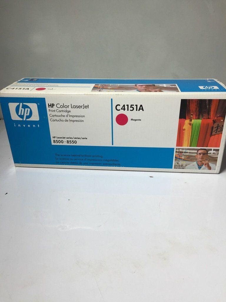 NEW OEM HP C4151A Magenta Toner Print Cartridge HP Color LaserJet 8500, 8550 -