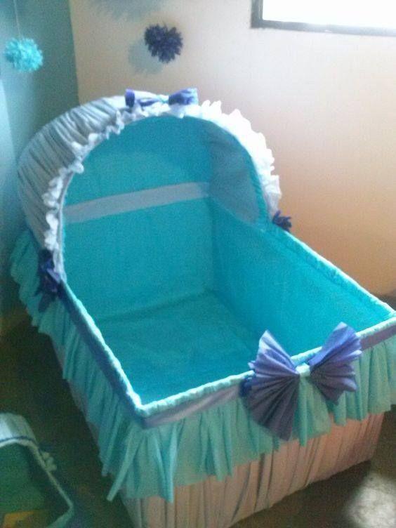 Cunitas de cart n para baby shower babies babyshower for Decoracion de cajas