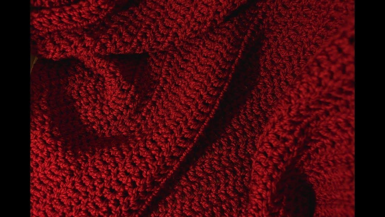 Worlds Easiest Crochet Afghan Pattern Crochet Pinterest