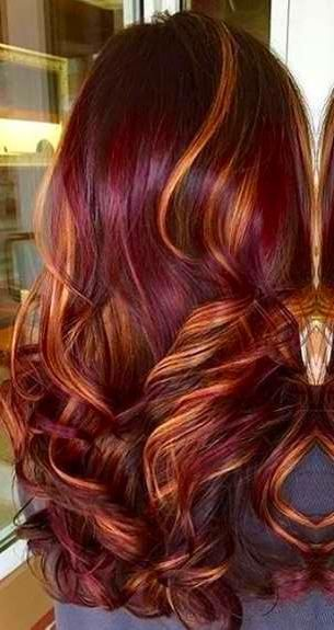 Balayage Hair In 2020 Red Ombre Hair Brunette Hair Color Brown Hair With Blonde Highlights