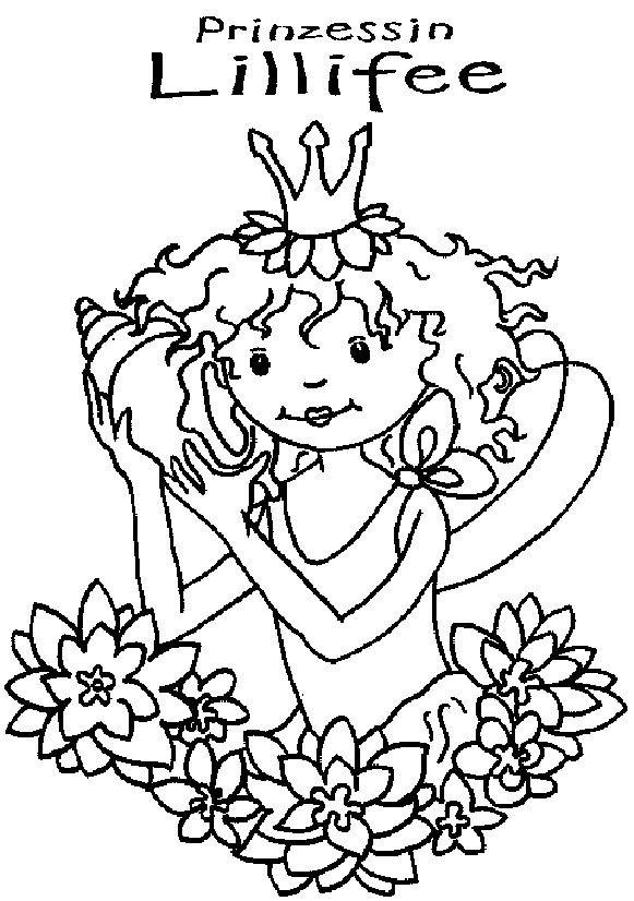 Ausmalbild Lillifee Ausdrucken: Lillifee, Ausmalbilder Und