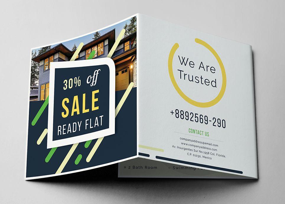 Promotional Z Fold Brochure Corporate Identity Template