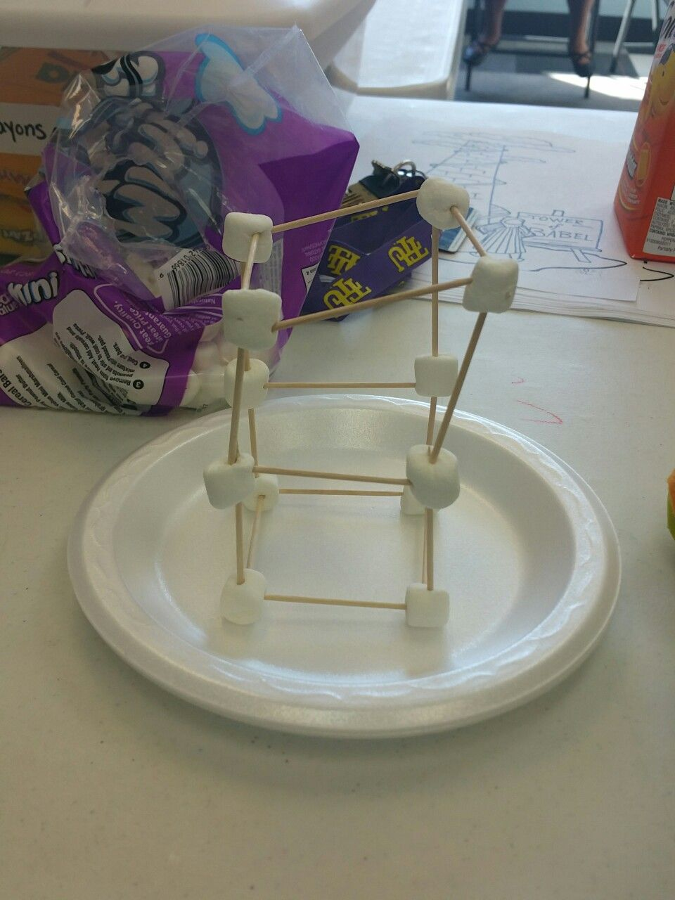 Youth Group Room Colors: Tower Of Babel Marshmallow Tower