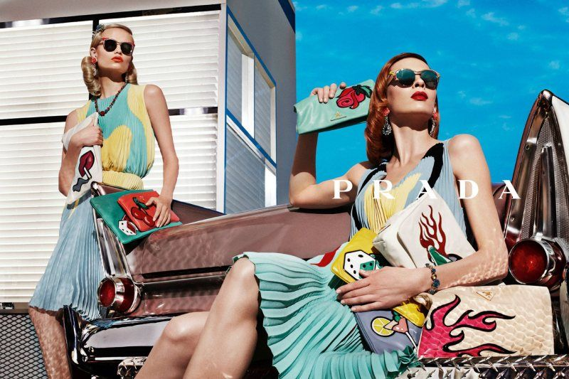 Prada Spring 2012. Photographed by Steven Meisel.