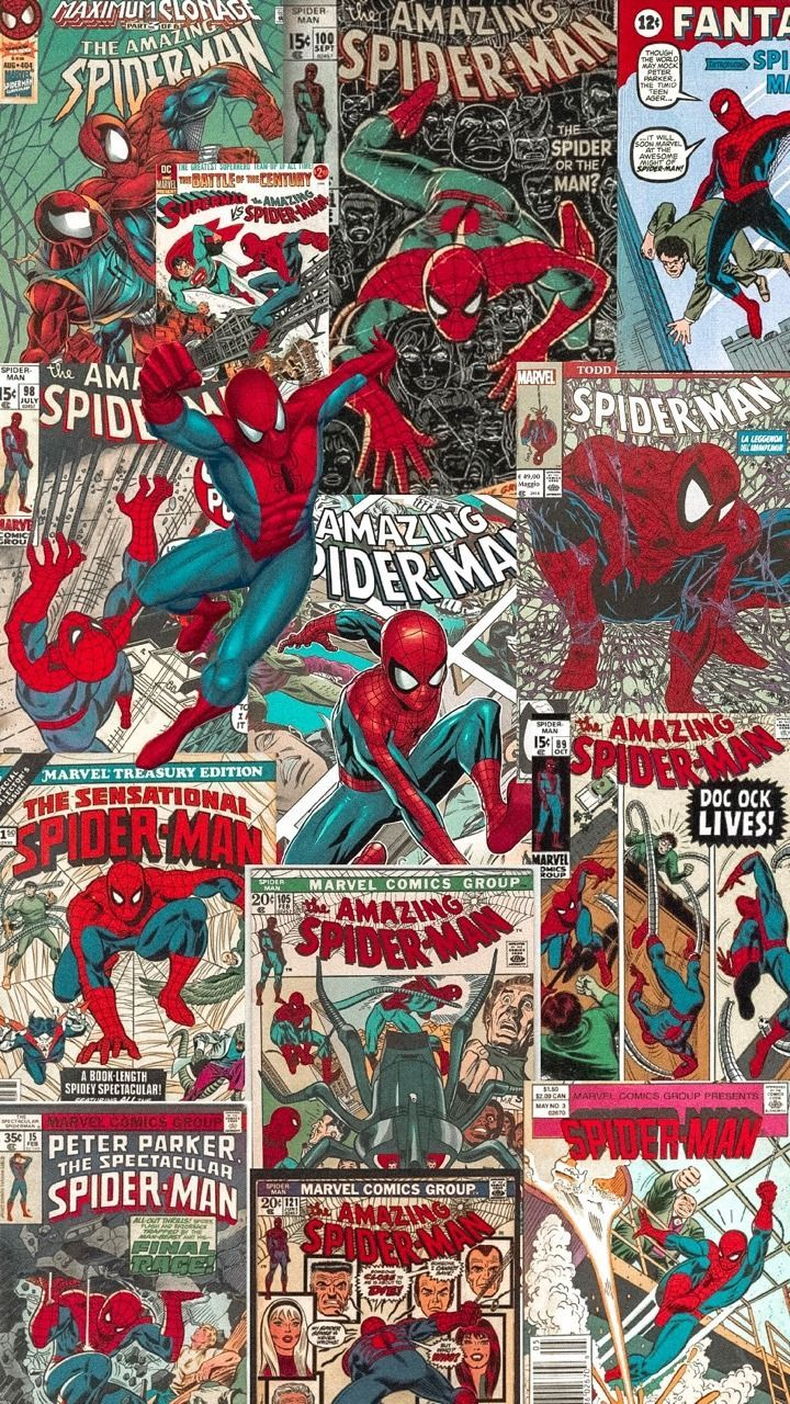 lockscreens - Marvel Comics