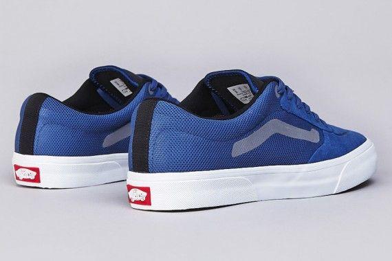 Vans Rowley Pro Lite - Blue - Silver