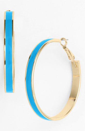 Cara Hoop Earrings | Nordstrom, $24