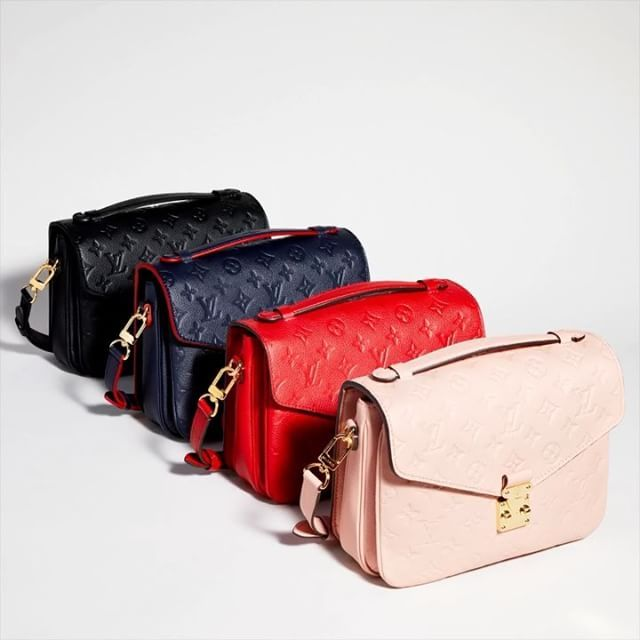 855beb18d157 Countless colors endless style  the  LouisVuitton Pochette Metis are  perfect for any occasion.
