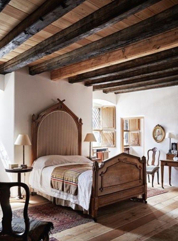 62 Charming Rustic Italian Bedroom Decor Ideas # ...