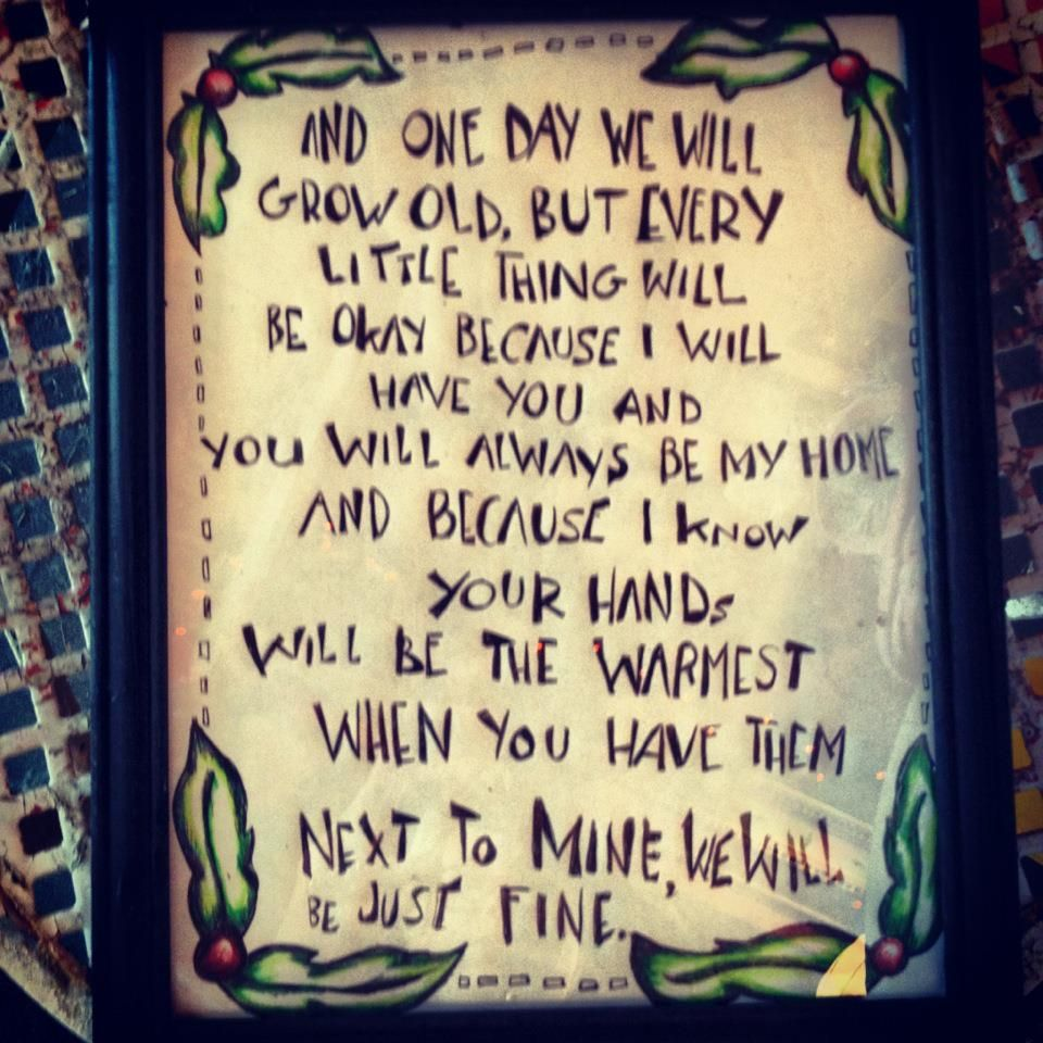 i turned an old letter to my boyfriend into wall art for our new ...