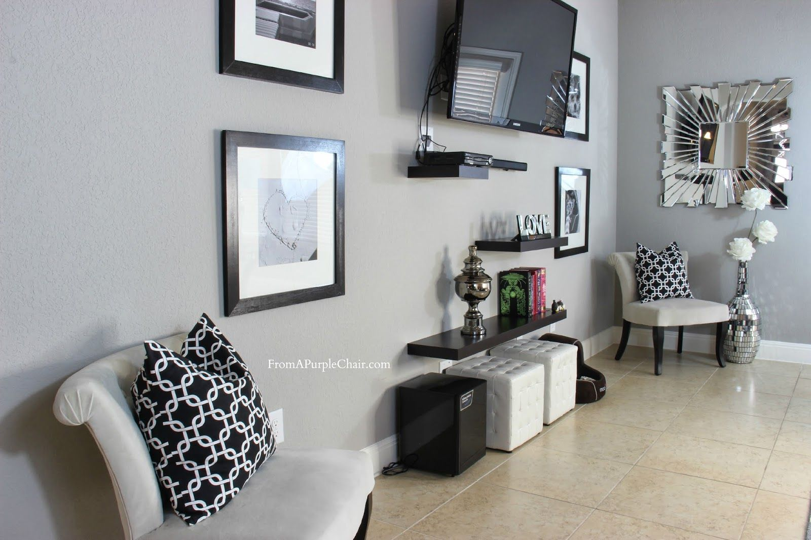decorating living room with kirkland | We decided on adding our own ...