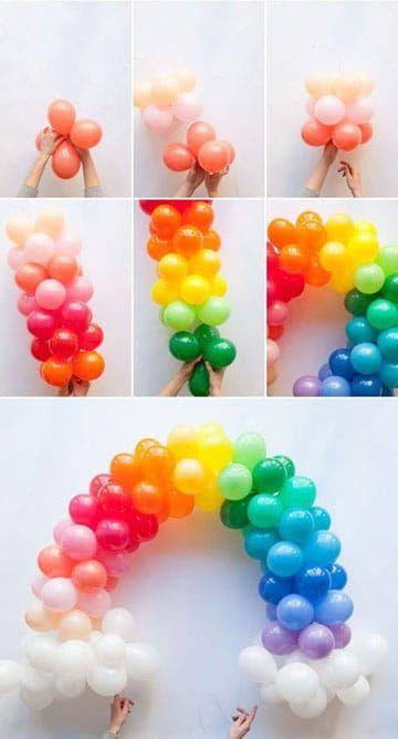 Como Hacer Formas Con Globos Y Figuras Para Cumpleanos Birthdays - Formas-con-globos-largos