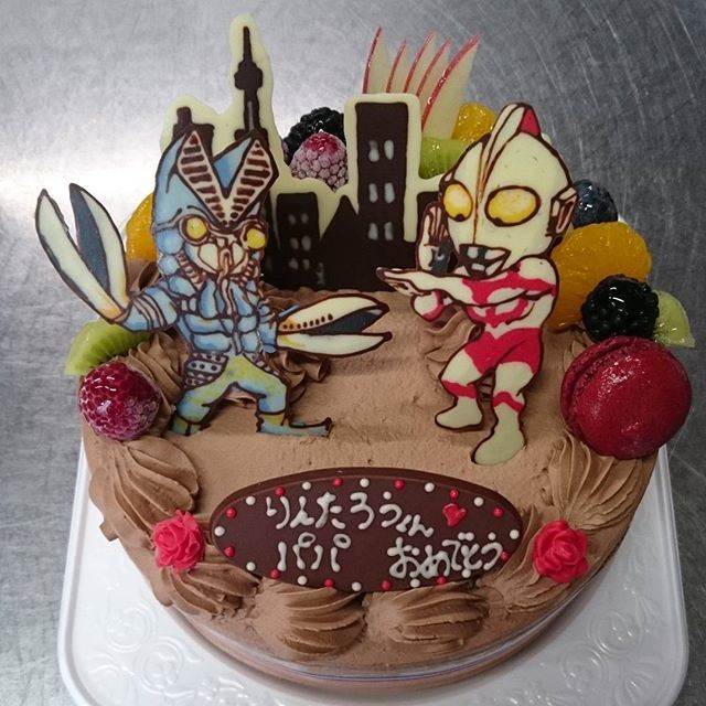 Image Result For ウルトラマン ケーキ 町 バースデーケーキ ケーキ 誕生日会