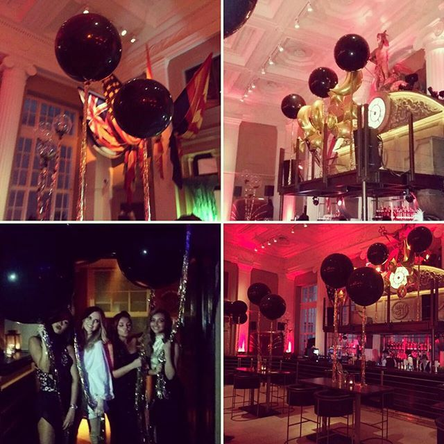A massive thank you to @3BubblegumGirls for coming down and decorating @steamandrye with your amazing balloons. You never disappoint!! #BlackMagicNumber1Party