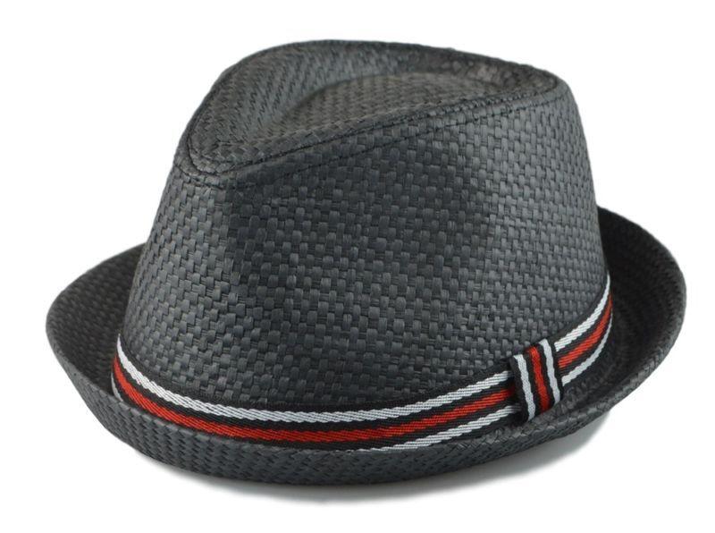 67c526dd Men's Fedora Cuban Style Upturn Short Brim Fedora Hats Various colors S/M,  L/XL