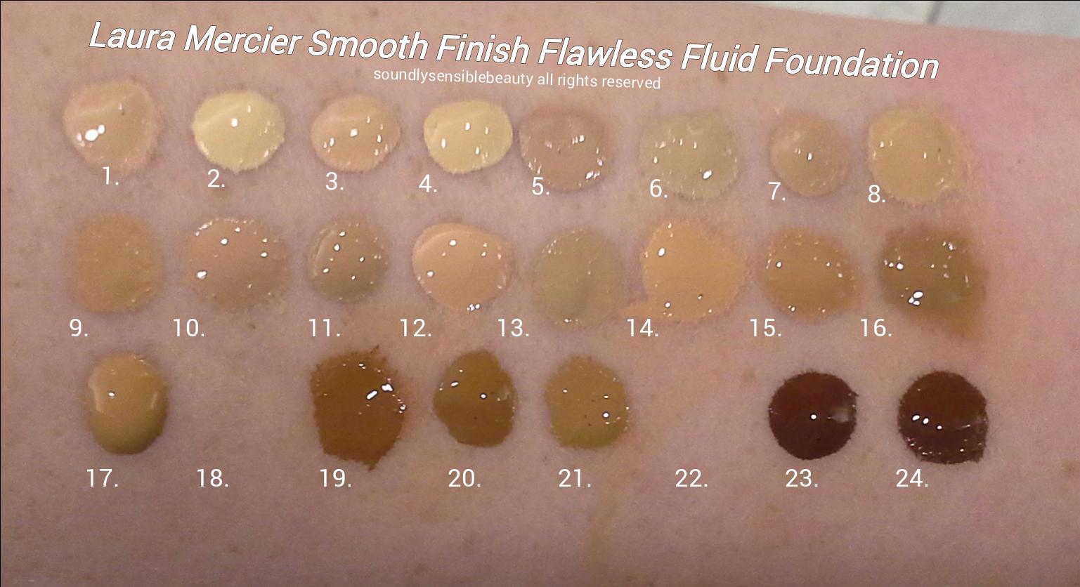 Laura Mercier Smooth Finish Flawless Fluide, Fluid ...
