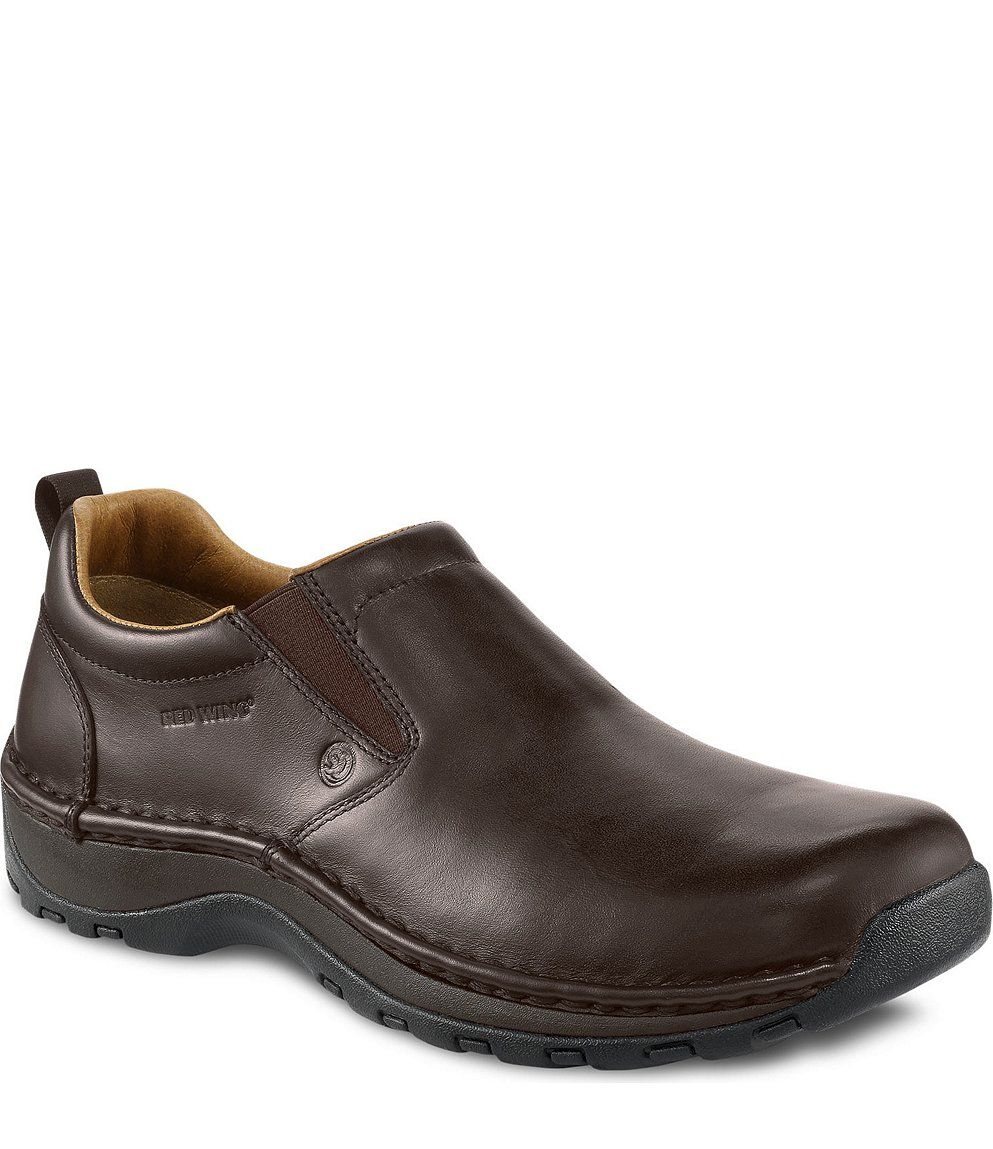 94319df1f69 Red Wing Safety Boots - 6702 Red Wing Men's - Slip-On Brown | Looks ...