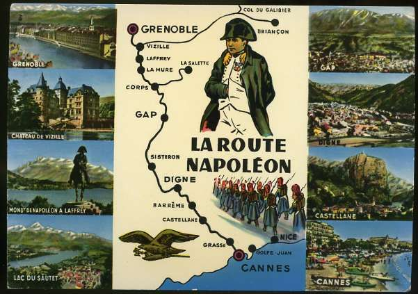 Image result for Route Napoleon map