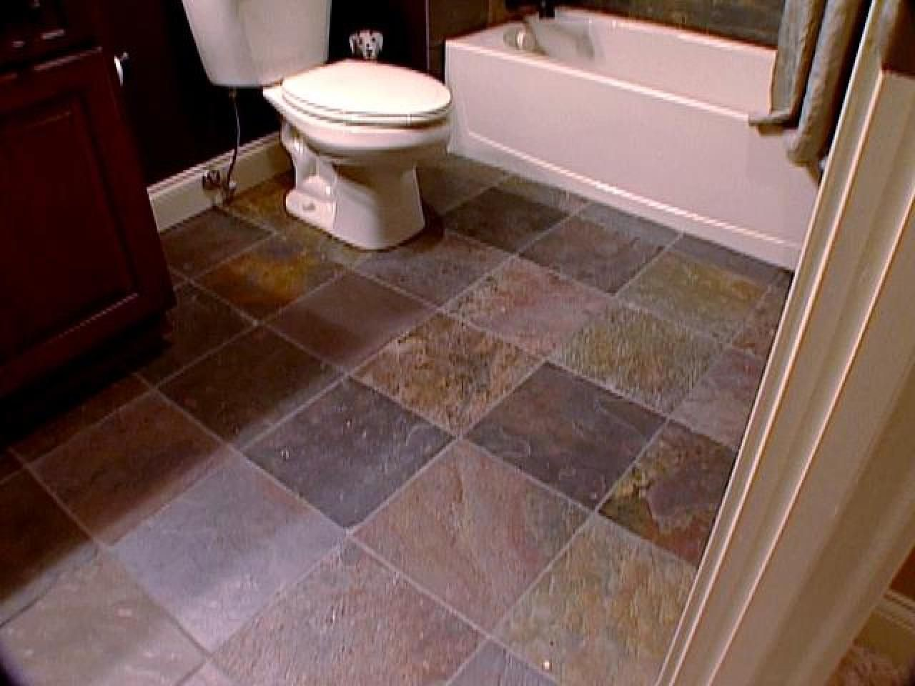 There Are Many Factors To Consider When Choosing A Flooring Type For Your Bathroom Our Expert Shares Advice On Options That Powder Room