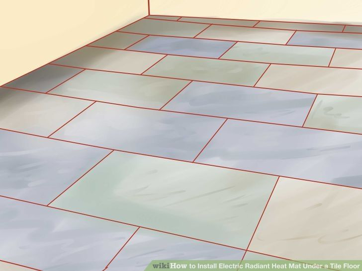 Install Electric Radiant Heat Mat Under A Tile Floor | Radiant Heat, Tile  Flooring And Walls