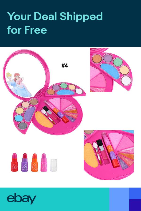 Kids makeup, Girls makeup set, Cosmetic gift set