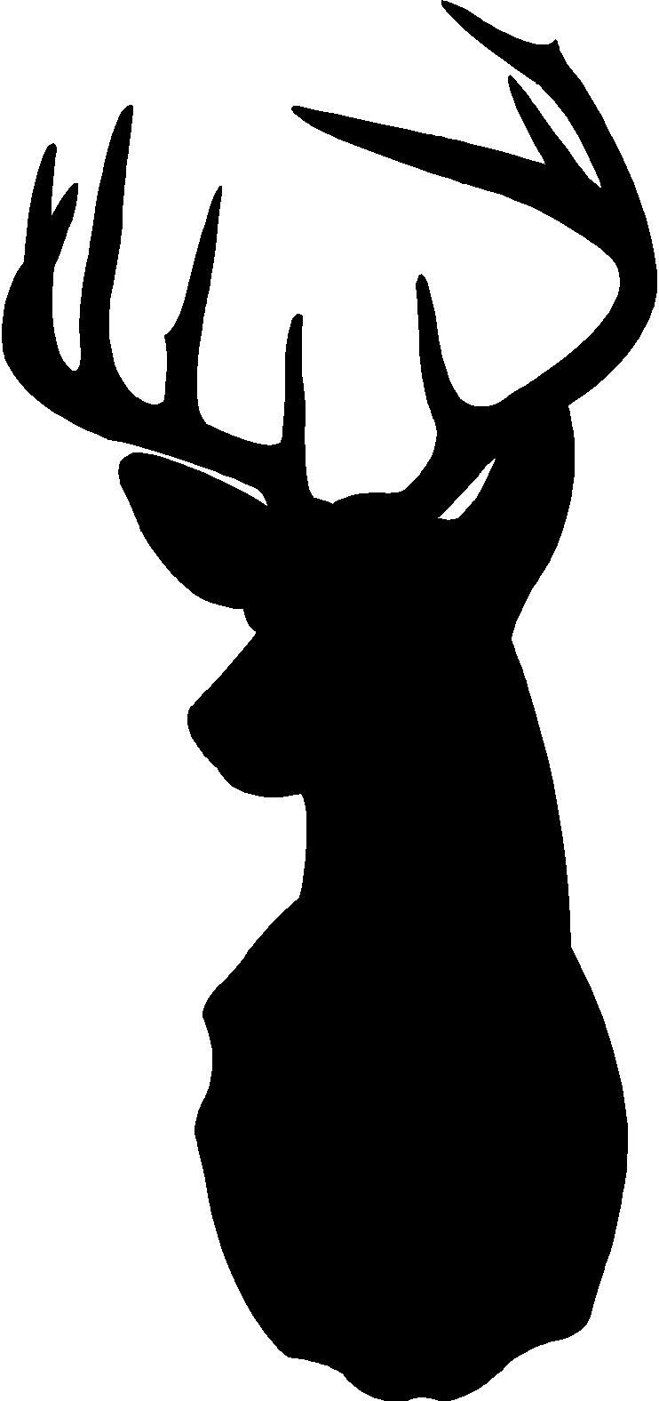 Pin By Opal Cain On Cameo Deer Head Silhouette Deer