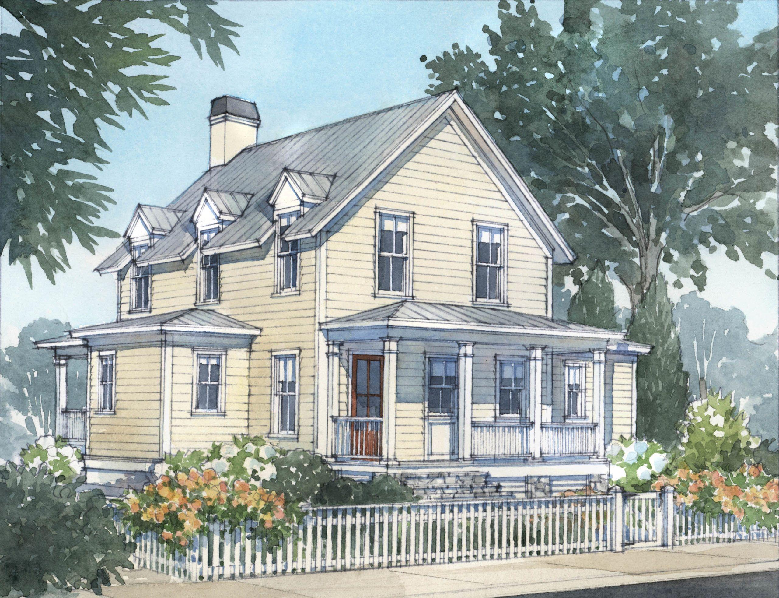 Bristol Bay Cottage L Mitchell Ginn Associates Bristol Bay New England Cottage Coastal House Plans