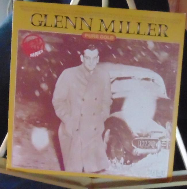 Glenn Miller Lp Pure Gold Near Mint #BigBandSwingJazzInstrumentJazzPop