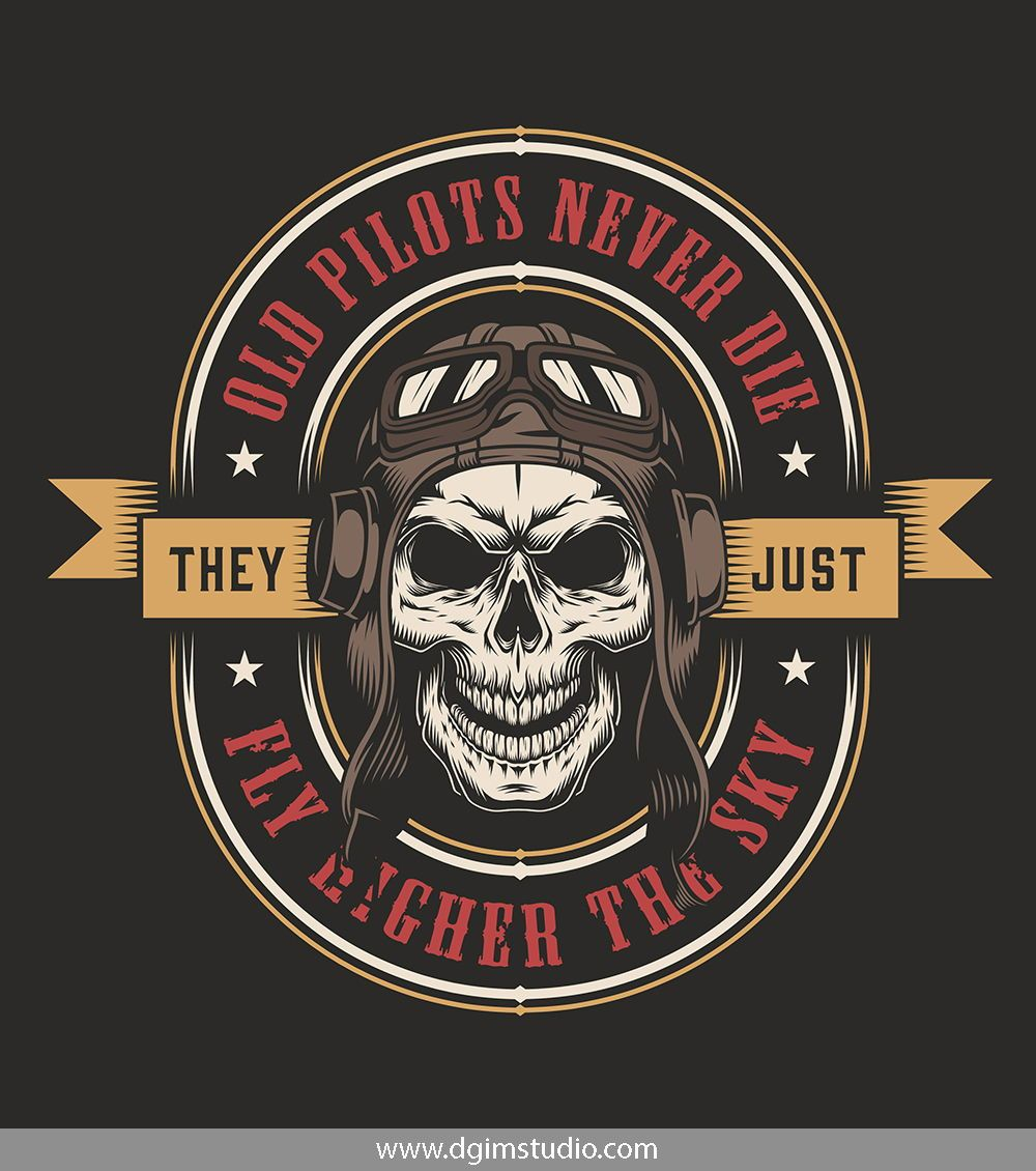 Vintage Military Emblems Collection | Created With Skull