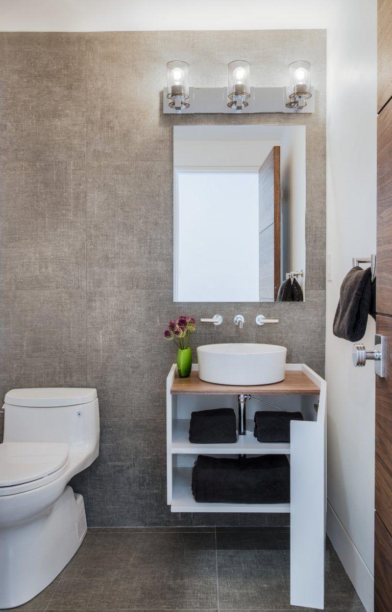 Round Vessel Sink White Vessel Sink Round White Vessel Sink Small Bathroom Small Bath Bathroom Remodel Cost Small Bathroom Design Small Bathroom Renovation