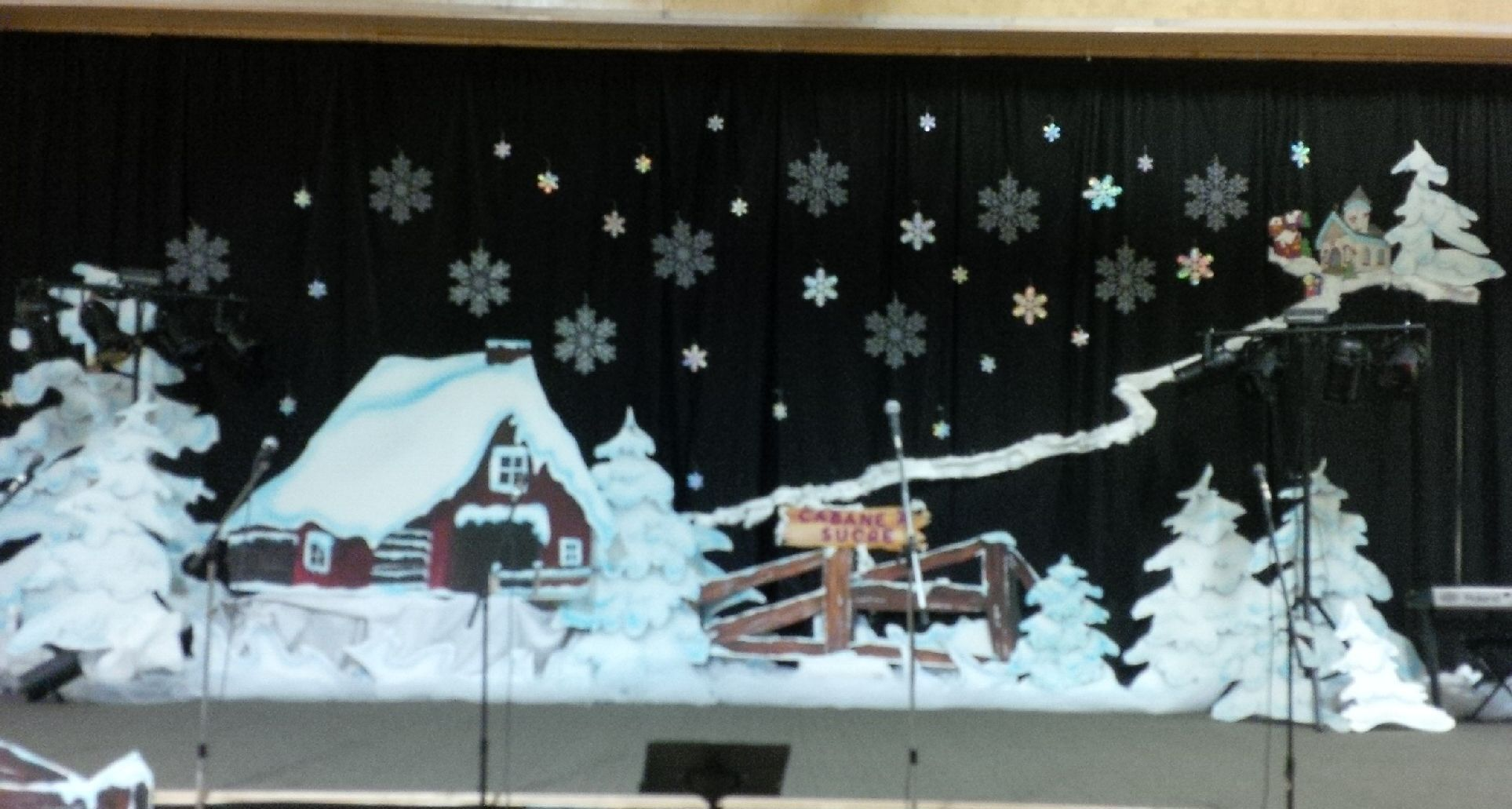 Spectacle De No 235 L 2013 Christmas Concert Stage Background