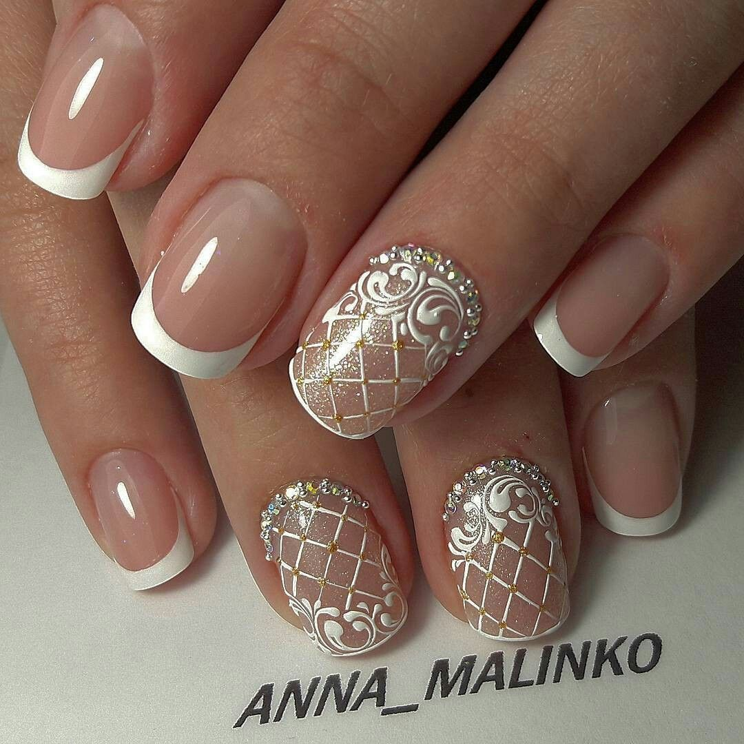 Резултат со слика за photos of bride nails