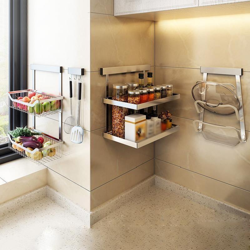 and storage dish drying rack fridge kuchnia stainless steel mutfak cocina organizador cozinha on kitchen organization dishes id=75690