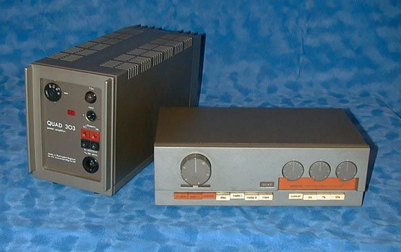 Quad 33 Pre and 303 Stereo Power Amplifier  *drool* | Hi End