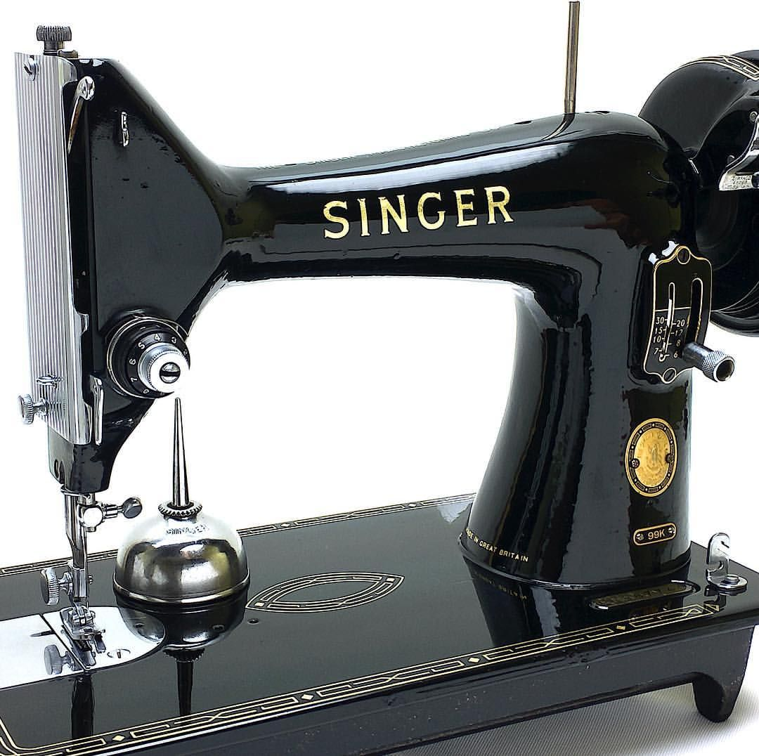 Bobbin Winder Rubber for the Singer 99k Sewing Machine On right of image
