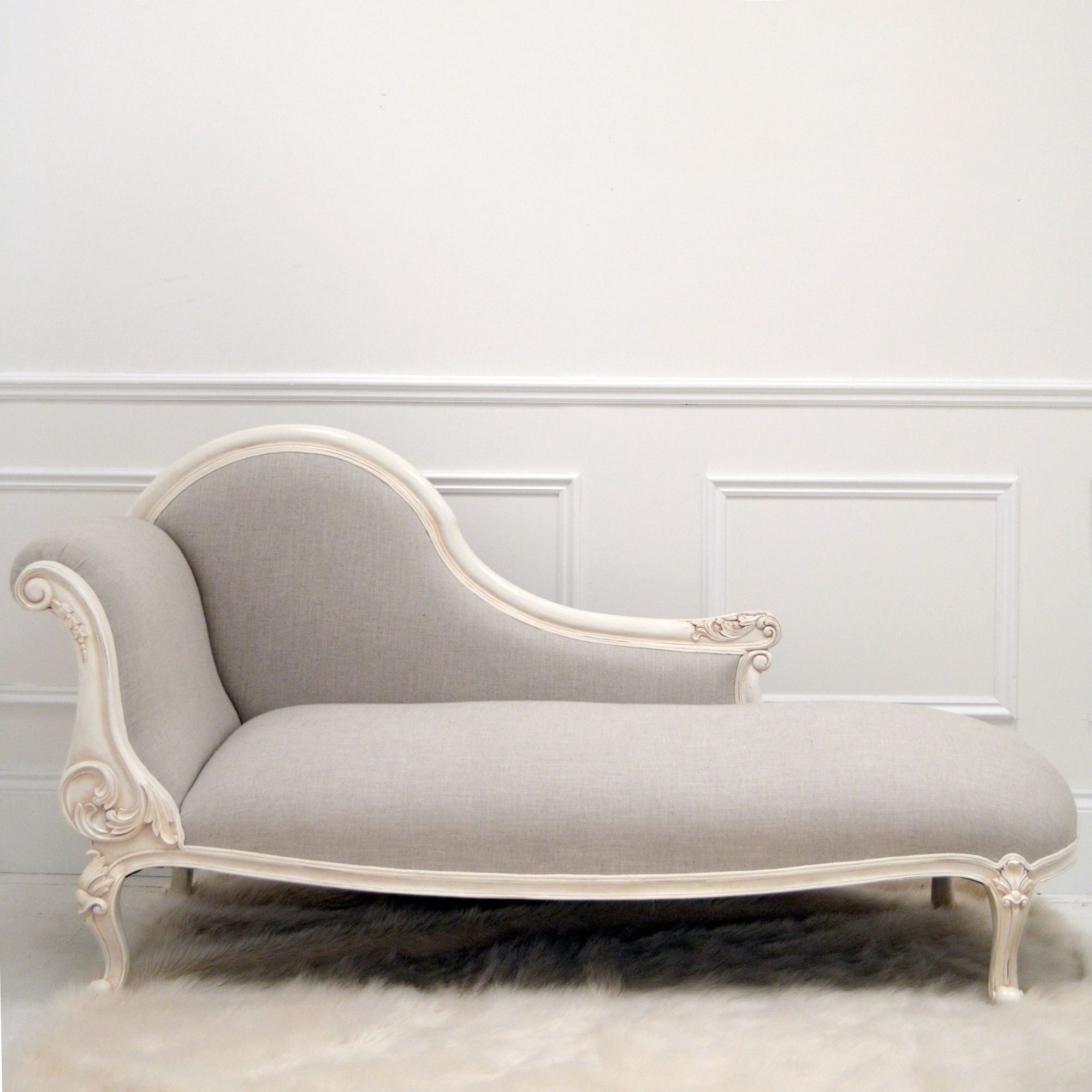 Http Www Sweetpeaandwillow Com Alana Pebble Chaise Longue Modern Chaise Lounge Furniture White Lounge Chair