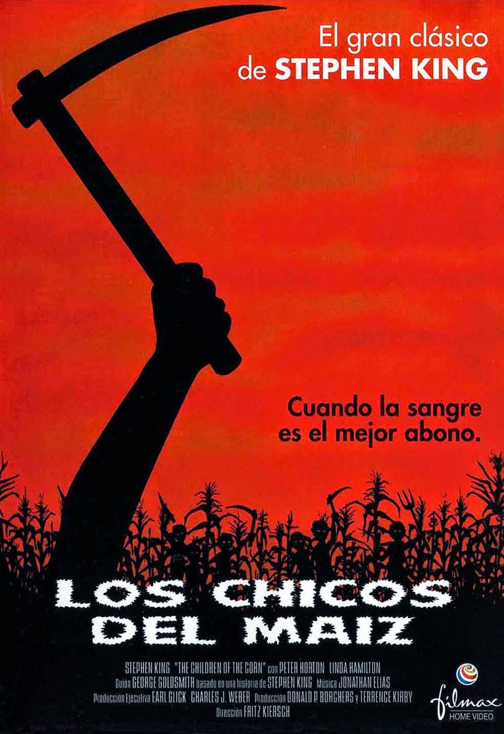 Los Chicos del Maiz [1984] | Los chicos del maiz, Peliculas de terror, Portadas de películas