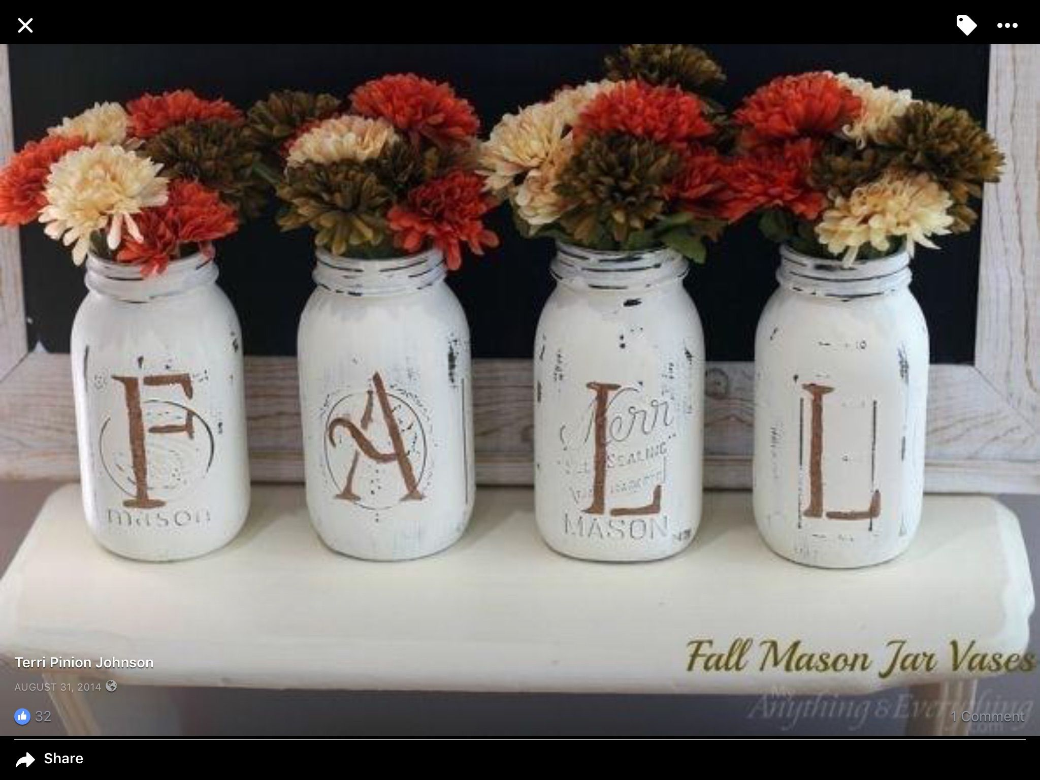 Explore Mason Jar Crafts, Mason Jar Vases And More