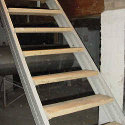 Best Basement Stair Stringers By Fast Stairs Com Em 2020 400 x 300