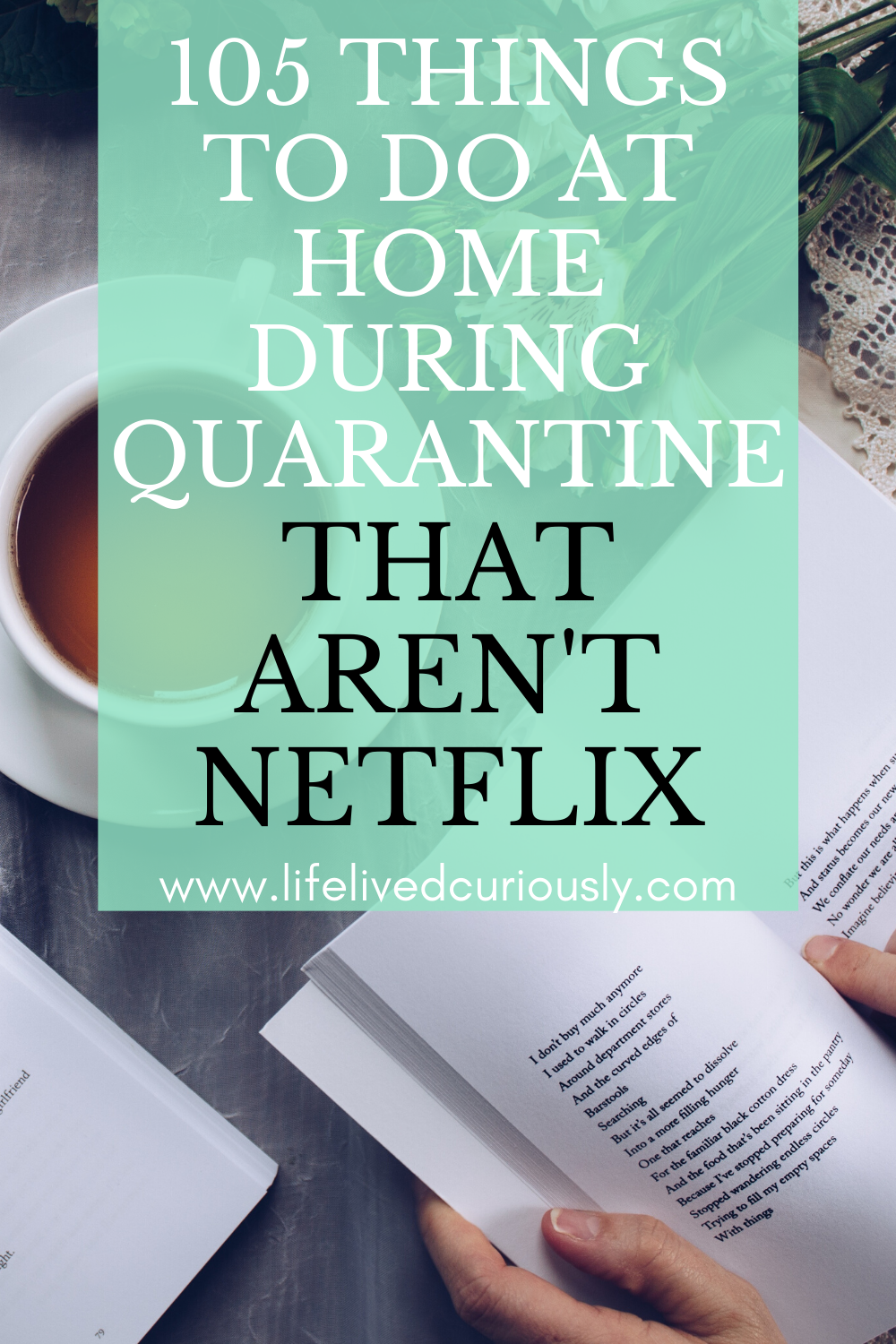 105 Things To Do At Home (That Aren't Netflix)