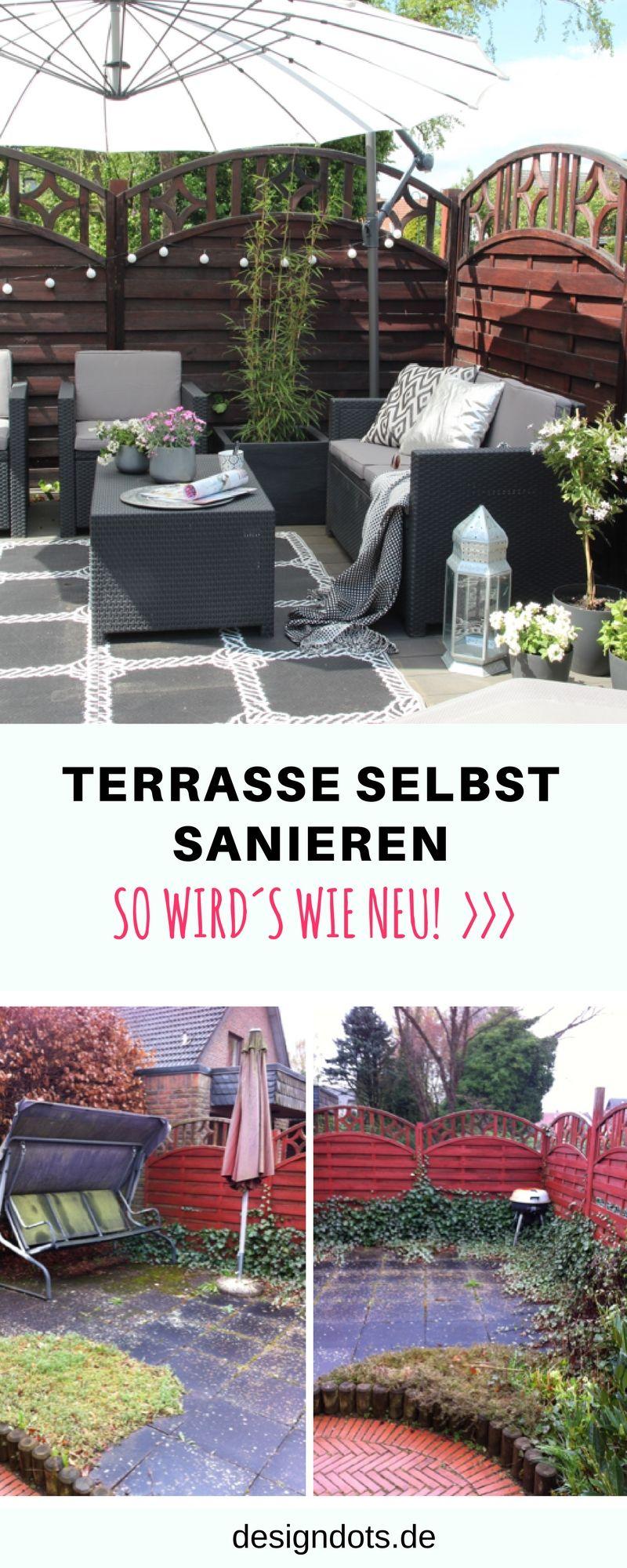 diy terrasse g nstig selber bauen gestalten und renovieren sichtschutz terrasse dekorieren. Black Bedroom Furniture Sets. Home Design Ideas