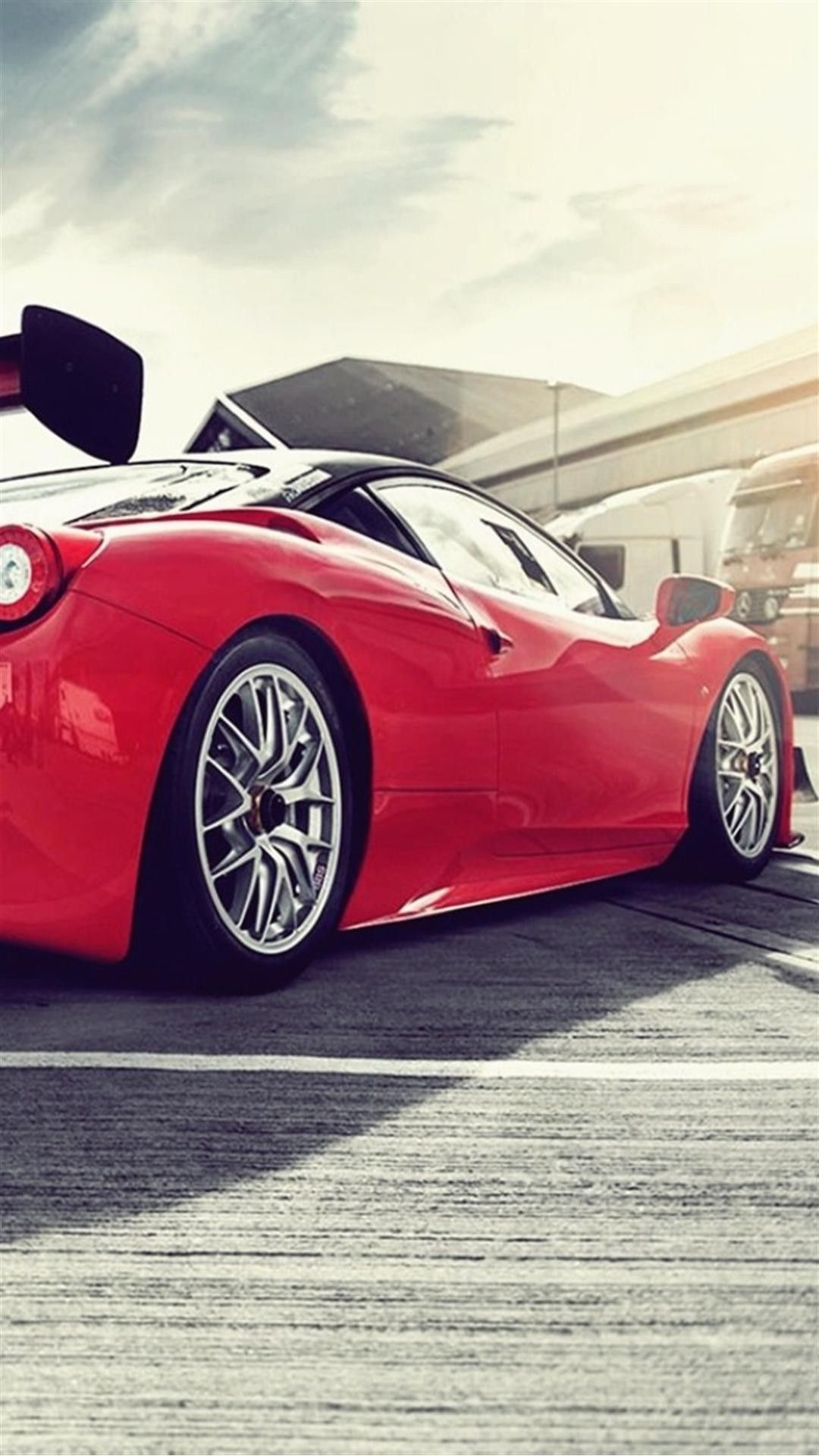 Ferrari 458 Italia Gt3 Smartphone Wallpaper And Lockscreen Hd